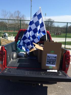 April 5th turned out to be a beautiful day for soccer as FCKC beat Oklahoma State 10-0 in their last preseason matchup and we had the privilege of getting to meet tons of FCKC fans and get several of them all signed up and ready to help out the blue crew this season.