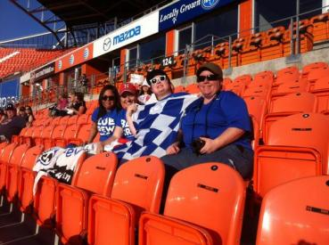 The Blue Crew was in attendance at BBVA Compass Stadium on May 3rd to witness FC Kansas City's 4-0 pummeling of the Houston Dash.