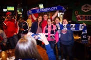 Whitney Engen was nice enough to snap a photo of us with Lauren Holiday.