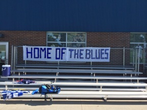 Home of the Blues banner